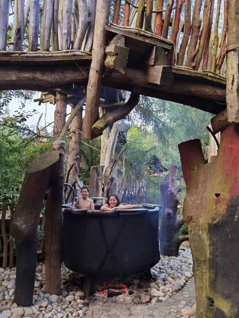 Ein aussergewöhnliches Bad im Turisede Kanibalenkessel