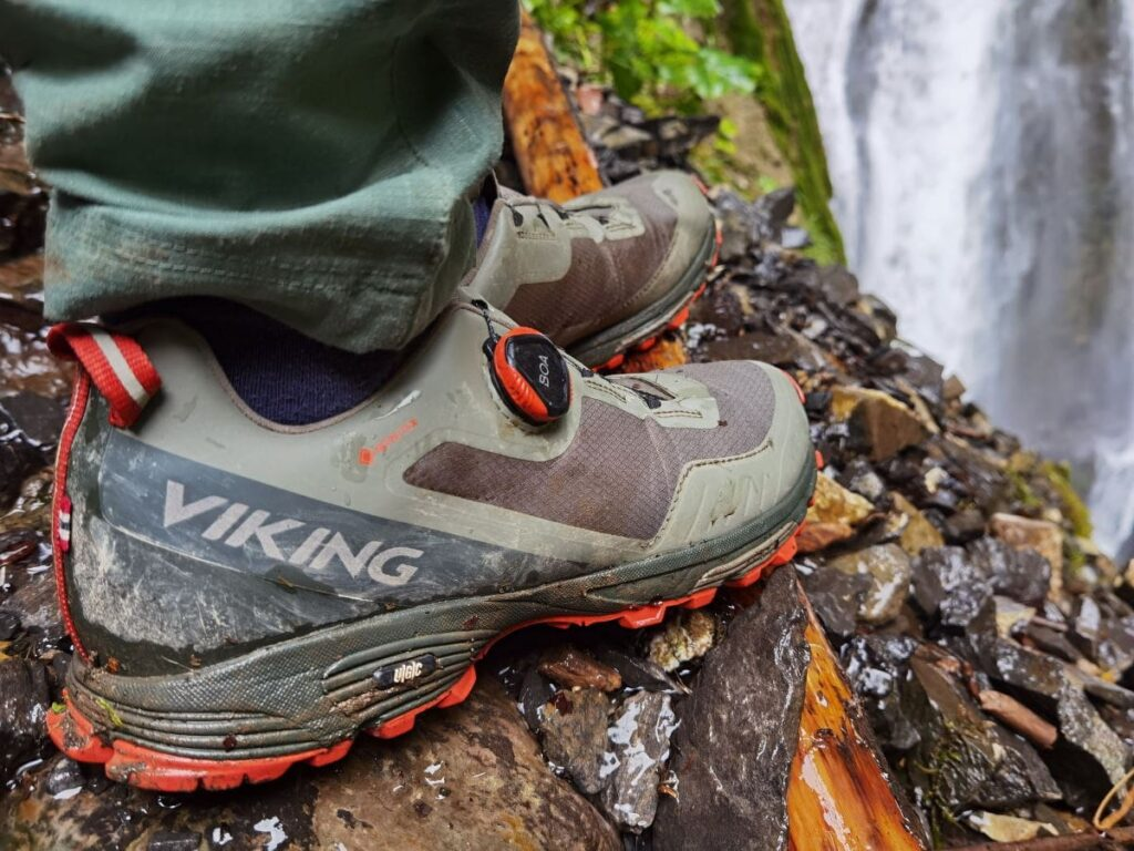 Nicht vergessen bei diesem Wanderurlaub: Gute Schuhe! Wir waren wieder sicher mit den VIKING Schuhen unterwegs.