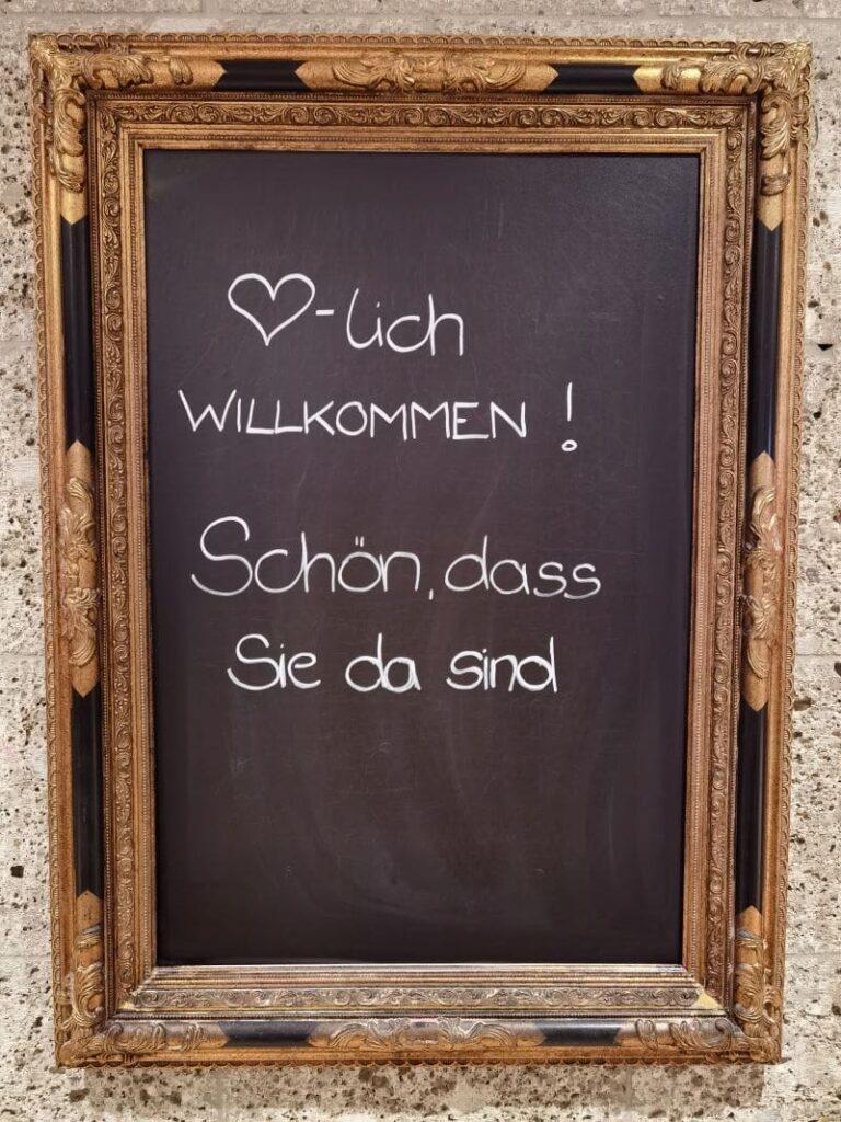 """Die Begrüßung im Walchsee Hotel """"Das Walchsee"""""""