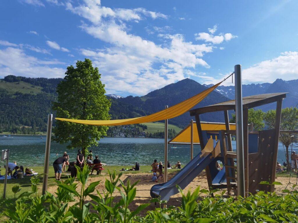Der schönste Walchsee Spielplatz - nicht weit vom Hotel entfernt