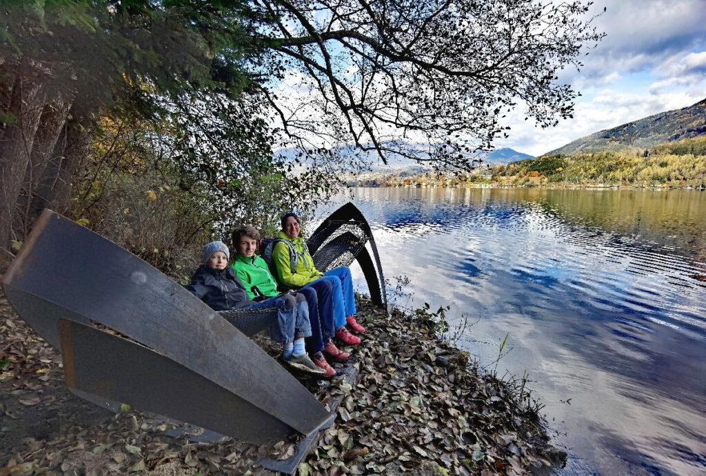 Unser Spezial Tipp für deine Millstätter See Wanderung - zu den Hängematten am Slow Trail