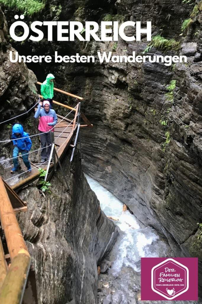 Wandern mit Kind Österreich