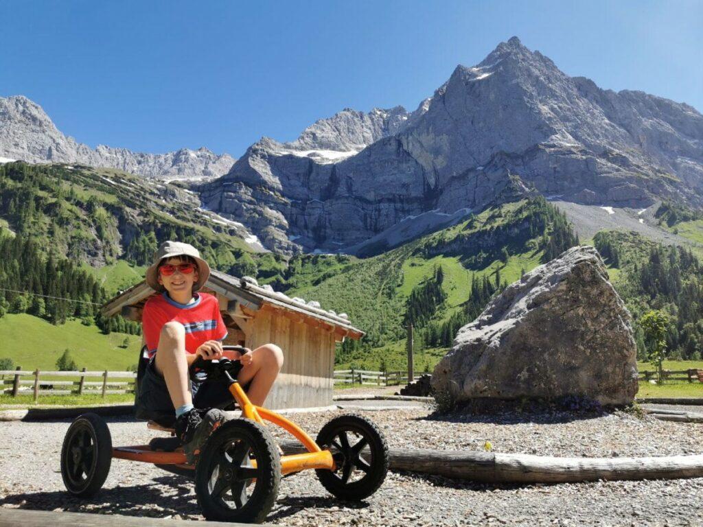 Top zum Wandern mit Kindern München - der Spielplatz der Eng Alm