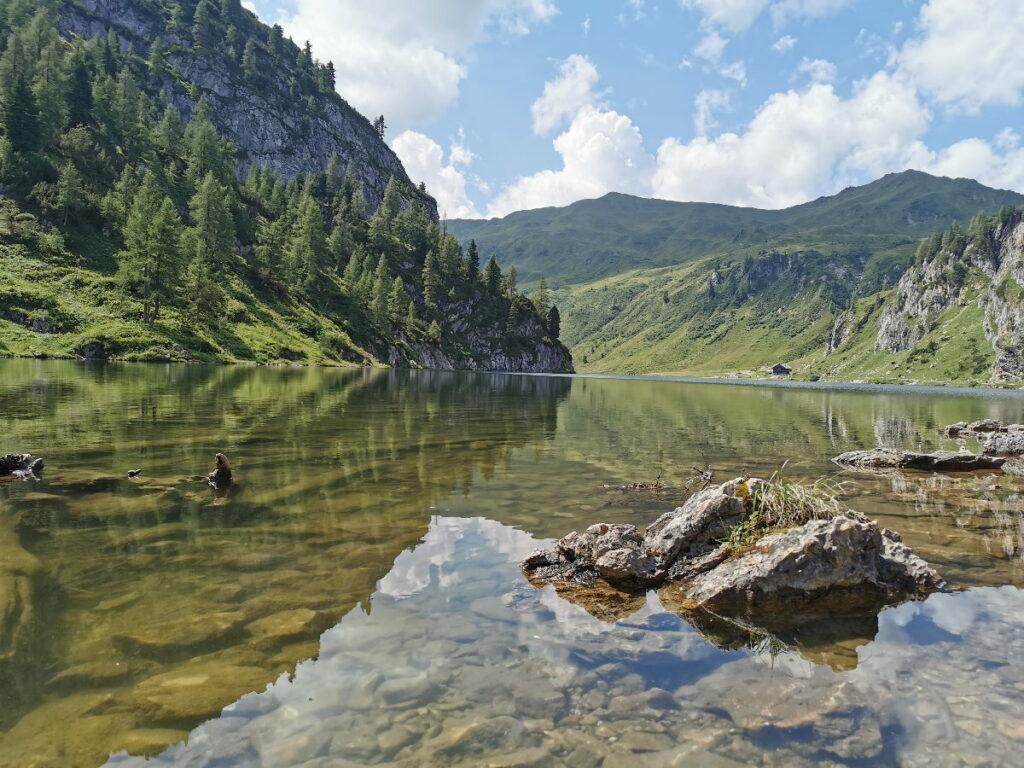 Tappenkarsee - idyllischer kann ein Bergsee nicht liegen!