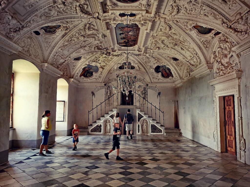Prächtige Räume in der Riegersburg