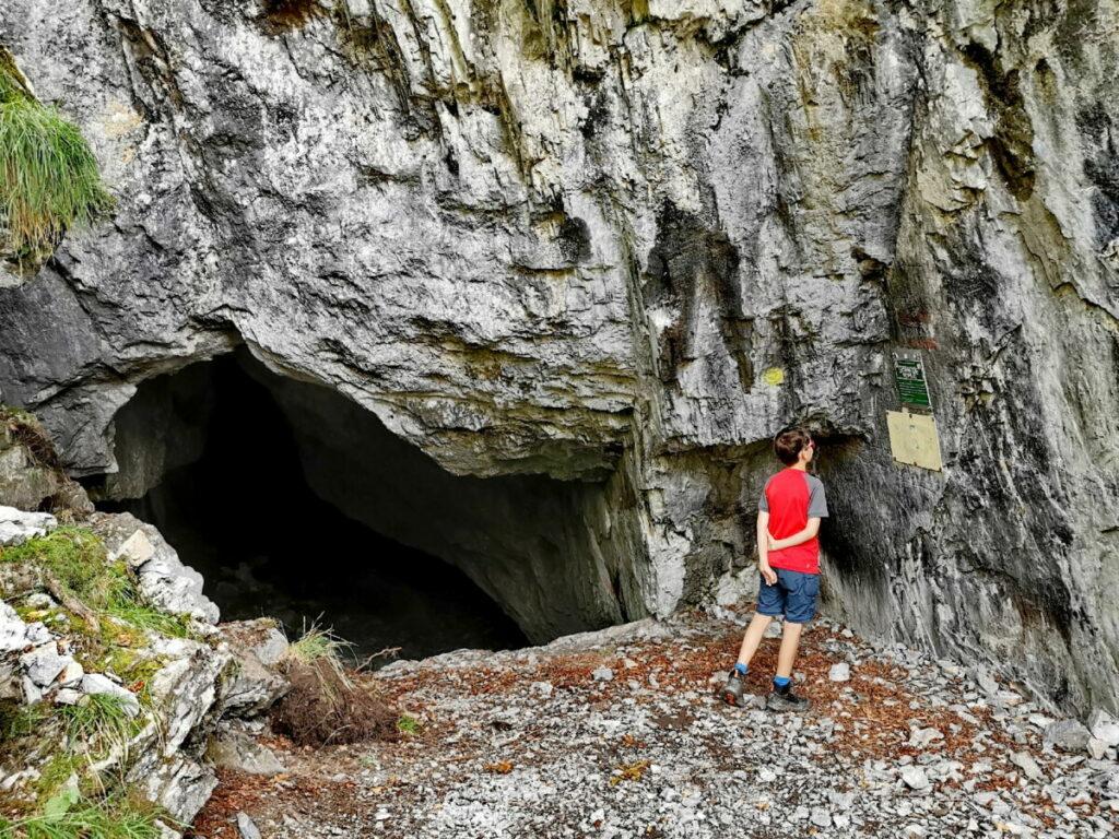 Die bekannteste Höhle in der Weizklamm - das Rablloch