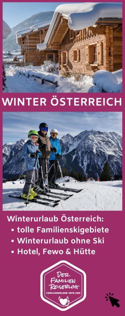 Winterurlaub mit Kindern Österreich merken