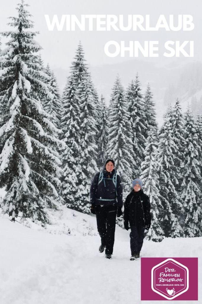 Winterurlaub ohne Ski