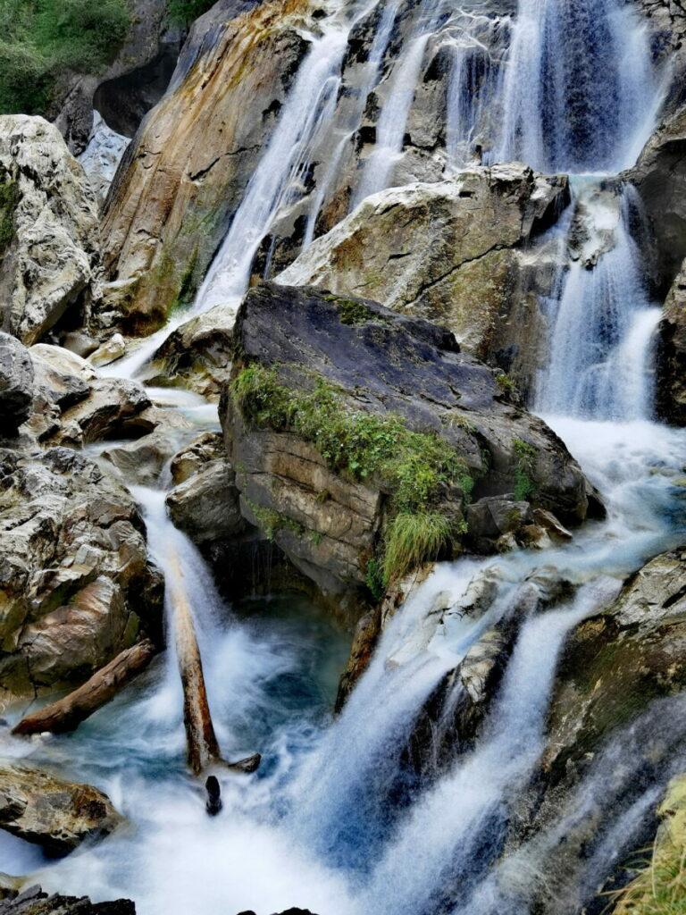 Zillertal Wasserfälle zum Staunen: Der Kesselfall