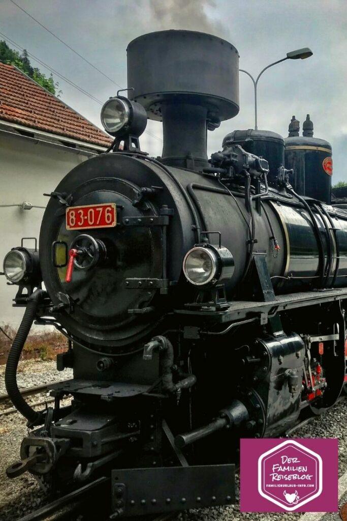 Zillertalbahn Dampfzug - Ausflug mit Kindern