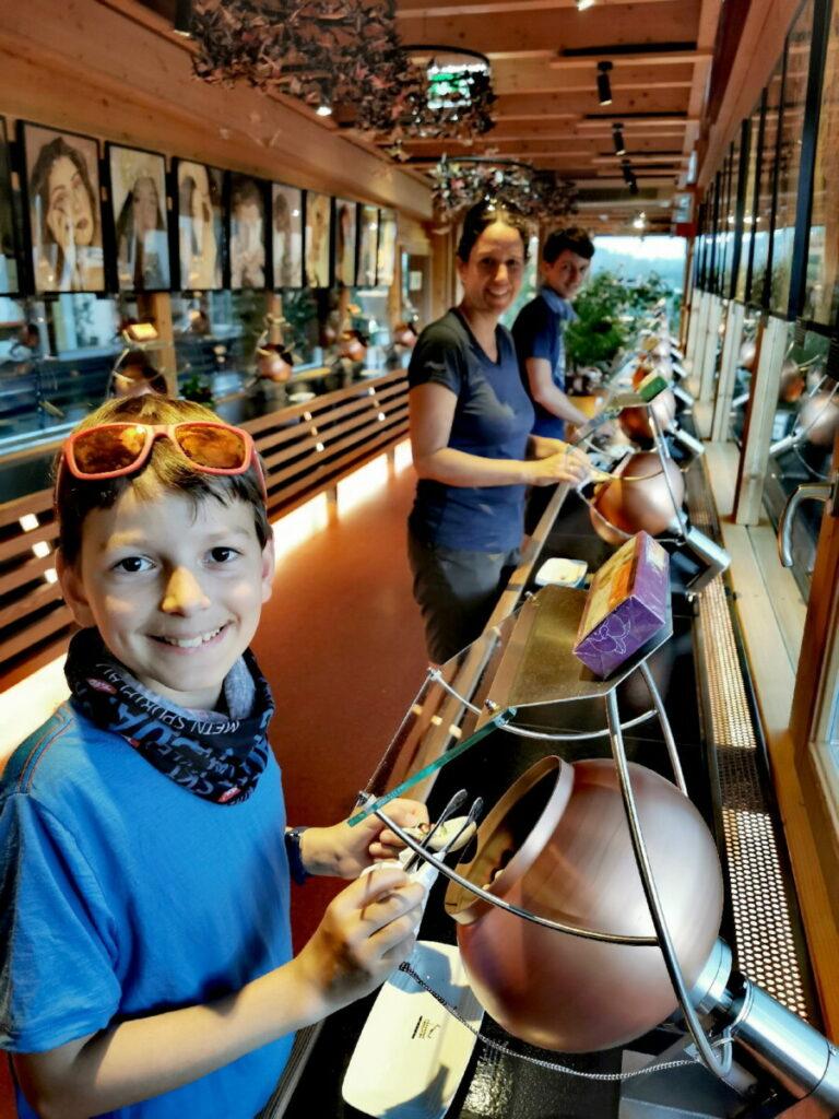 Unser Ausflug in die Schokoladenfabrik mit Kindern - der Traum für alle Schokoladenliebhaber