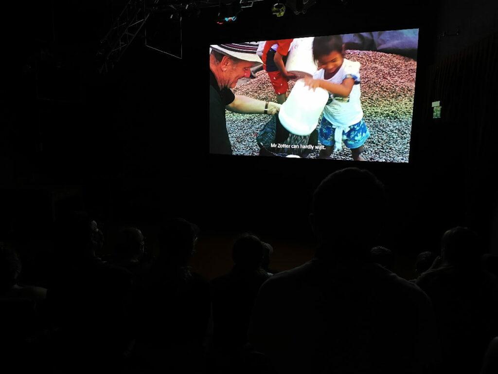 Im Film zeigt Josef Zotter seine Erlebnisse in Peru