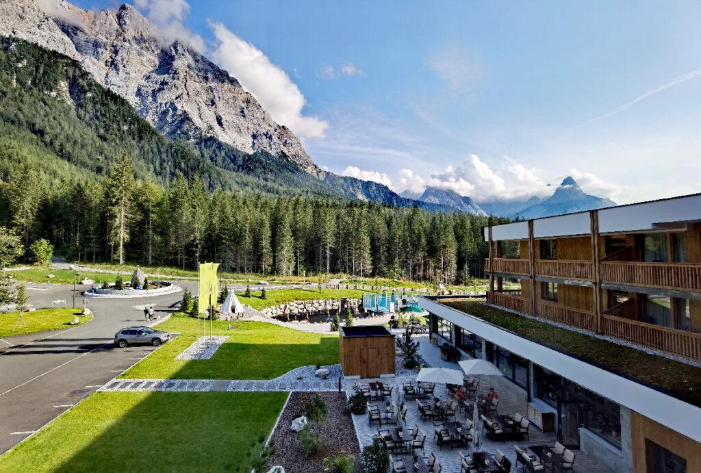 Das Zugspitz Resort Ehrwald - direkt an der Zugspitze gelegen