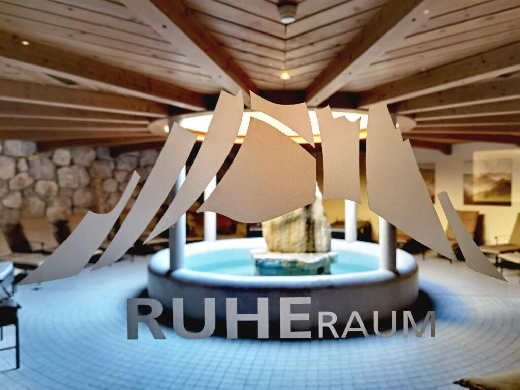 Auch das gibt´s im Zugspitz Resort Ehrwald: RUHE und Entspannung