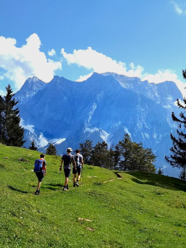 Zugspitze mit Kindern wandern