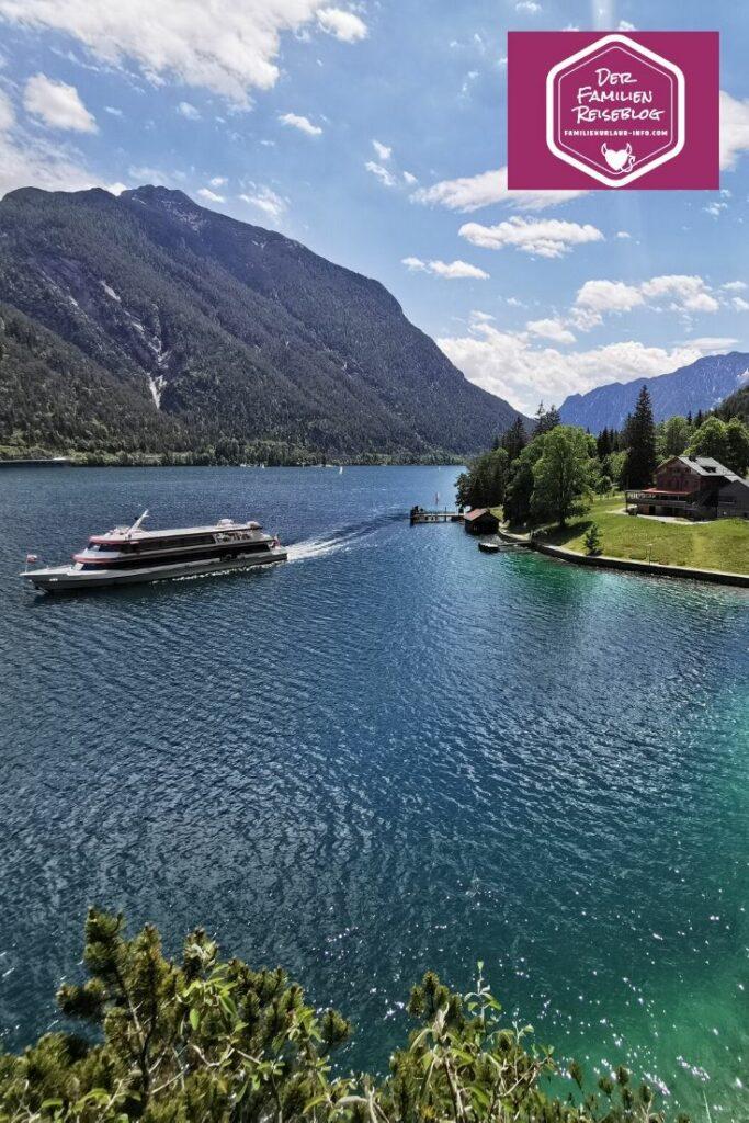 Außergewöhnliche Ausflugsziele: Die Karibik in Tirol mit Schiff und Wanderung erleben