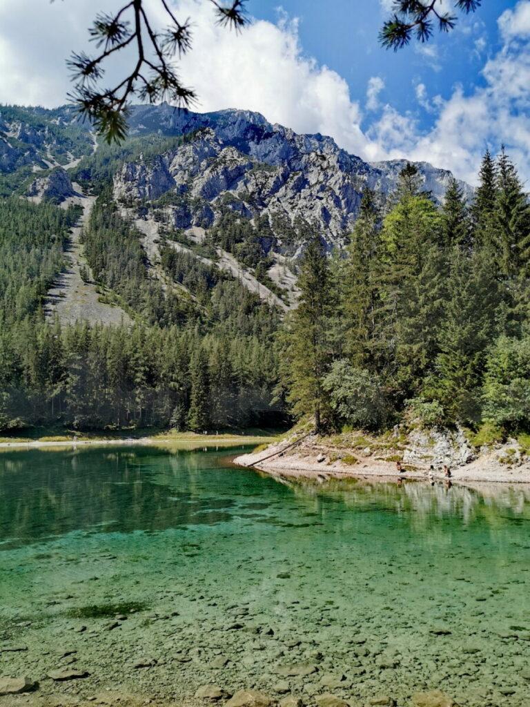 Grüner See - beeindruckendes Naturschauspiel nahe Bruck an der Mur