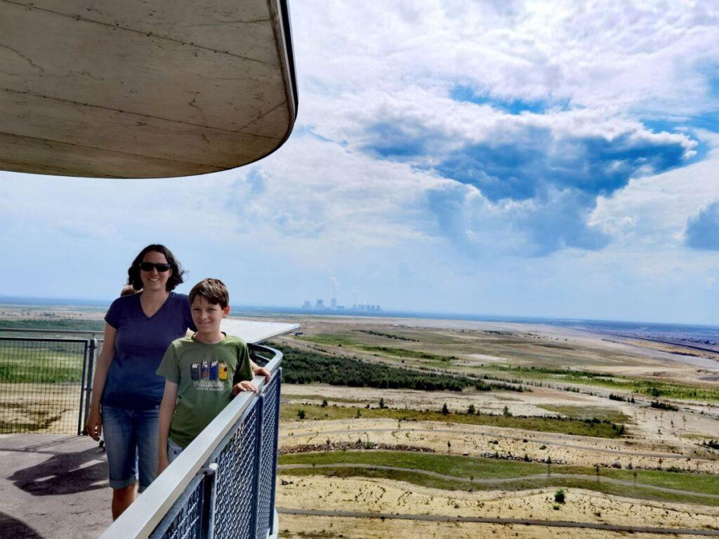 kostenlose Ausflugsziele Oberlausitz mit Kindern - die Turmbesteigung ist gratis